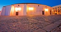 The bullring and Real Maestranza De Caballería De Ronda, Plaza de toros, Ronda, White Towns, Malaga province, Andalusia, Spain, Europe.