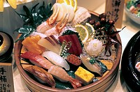 meat sushi.