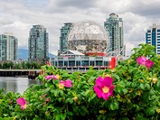Science World at Telus World of Science, Vancouver is a science centre run by a not-for-profit organization in Vancouver, British Columbia, Canada.