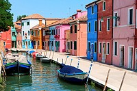 Burano´s Colored Houses, Venice.