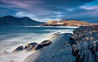 Valentia Island Lighthouse, Valentia, County Kerry, Ireland.