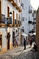 Dalt Vila Ibiza Old Town - Ibiza.