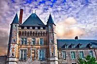 france, loire castles : talcy castle.