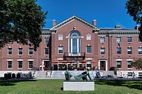 Faunce House, Brown University campus, Providence, Rhode Island, USA.