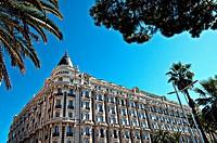 Europe, France, Alpes-Maritimes, Cannes. Carlton palace Hotel.