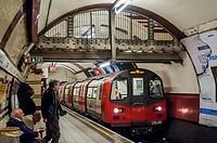 Hampstead Underground Station, London.