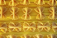 background of pasta.