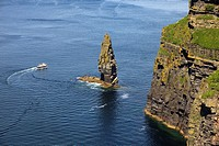 Cliffs of Moher, Burren region, Co. Clare, Ireland.