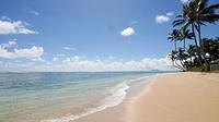 Kaaawa Beach Park, Oahu, Hawaii.