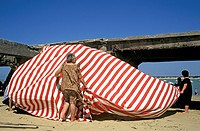 beach.san lucar de barrameda.