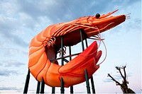 The Big Prawn, Ballina, Northern Rivers, New South Wales, Australia.