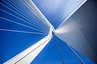 Erasmus Bridge (Dutch: Erasmusbrug) is a cable-stayed bridge across the Nieuwe Maas, linking the northern and southern regions of Rotterdam, Netherlan...