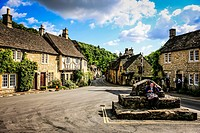 Castle Combe village Wiltshire - said to be the prettiest in England.