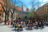 Plaza de la Paja (La Paja square), whose name remembers an ancient grain market taking place there during Middle Ages and nowadays a busy restoration ...