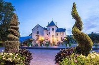 Place Maurice Mollard in Aix Les Bains, Savoie, Rhône-Alpes, France.