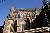 Nieuwe Kerk Church Amsterdam Holland.