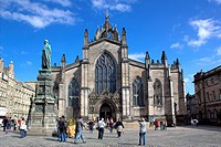 The High Kirk of Edinburgh, known colloquially as St Giles´ Cathedral.