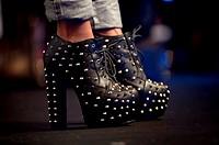 Studded Shoe.