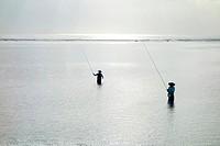 Fishing. Bali