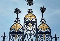 Entrance portal to Schloss Bueckeburg Palace, Bueckeburg, Lower Saxony, Germany, Europe