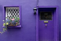 Purple Cottage, Kinsale, Ireland, Republic of Ireland, Europe,.