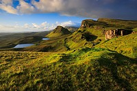 Trotternish, The Quaraig, Isle of Skye, Scotland.