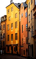 A Street in Old Stockholm.