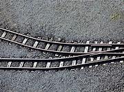Train tracks, Germany, Europe