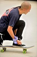 Championship Skater Vans Shop Riot in Leganes Madrid Spain.