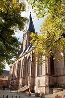 St Mary´s parish church, Marburg, Hesse, Germany, Europe