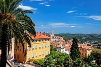 The city of Grasse, Préalpes d´Azur regional park, Alpes-Maritimes, Provence-Alpes-Côte d´Azur, France.