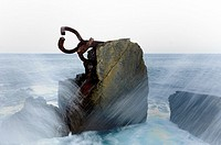 Comb of the Winds by Eduardo Chillida San Sebastian, Guipuzcoa, Basque Country, Spain