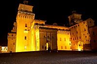 Castello Estense, Ferrara, Emilia Romagna, Italy.