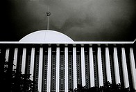 The Istiqial Mosque in Jakarta in Java in Indonesia in Southeast Asia Far East