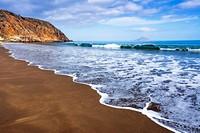 Smugglers Cove, Santa Cruz island, Channel Islands National Park, California USA.