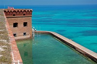 Fort Jefferson's Moat.