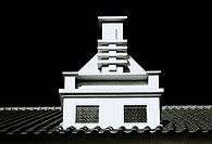 Architecture in Yogyakarta in Java in Indonesia in Southeast Asia Far East.
