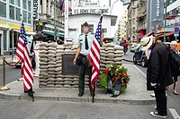 Checkpoint Charlie, Allied Museum, Berlin, Capital of Germany, Europe.