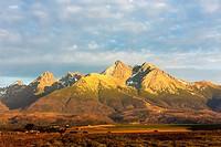 surroundings of Lomnicky Peak, Vysoke Tatry (High Tatras), Slovakia.