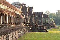Angkor Wat Temple complex UNESCO World Heritage Site, Angkor, Siem Reap,Cambodia, Indochina, Southeast Asia, Asia.