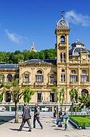 City Hall, Donostia-San Sebastián, Gipuzkoa, Spain.
