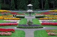 Duncan Garden, Manito Park, Spokane, Washington.