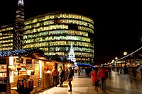 More London Christmas Market, London, England.