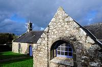 France, Brittany, Finistere, Crozon Peninsula, Saint-Hernot chapel