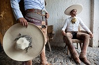 The charreada or charrería is a competitive event similar to rodeo and was developed from animal husbandry practices used on the haciendas of old Mexi...