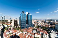 Business centre and new and developing part of Istanbul