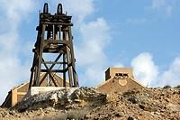 Old mining site.´La Unión´, Cartagena, Murcia, España, Europa.