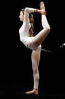 Estudio del cuerpo humano en diferentes disciplinas Deportivas. Gimnasia rítmica con aparatos.
