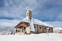 La Feclaz, Savoie, Rhône-Alpes, France.