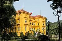 Presidential palace, Ho Chi Minh Mausoleum complex, Hanoi, Vietnam.